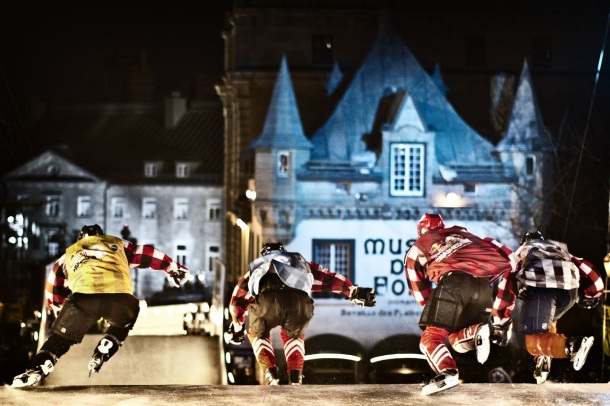 crashed ice
